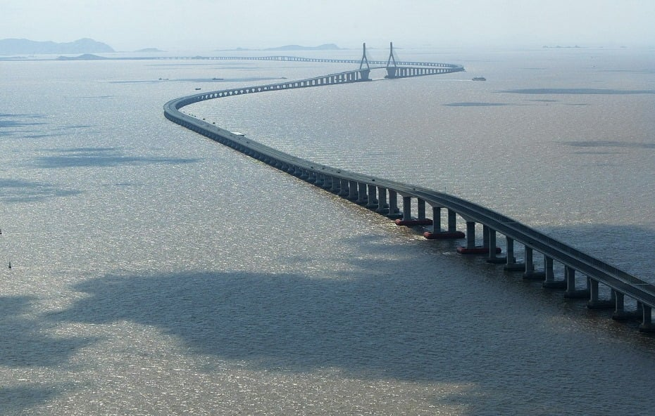Donghai Bridge, China