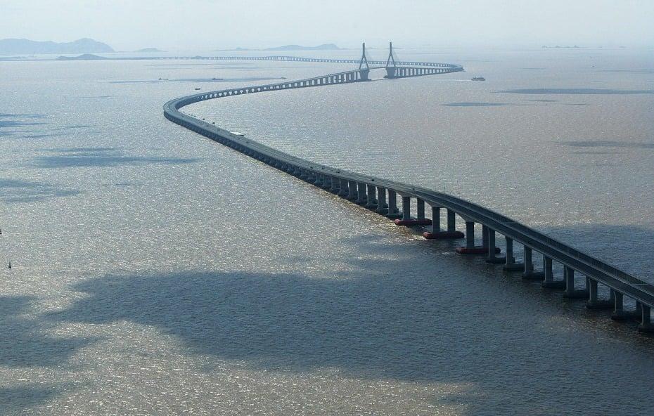 Donghai Bridge, China
