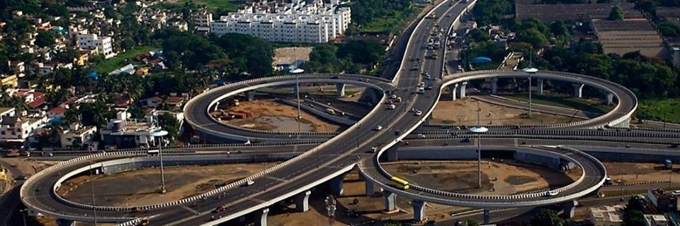 Kathipara Junction, Channai, India