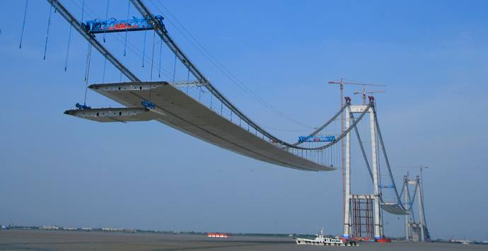 Taizhou Bridge, China