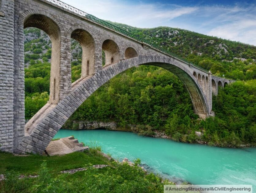 The Solkan Bridge, Slovenia
