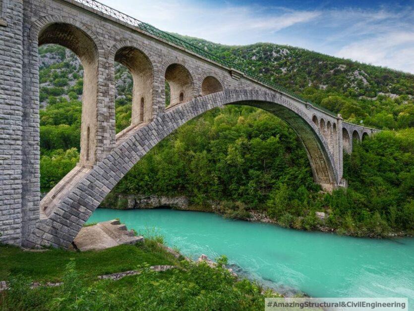 The Solkan Bridge, Slovenia