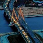 Bugrinsky Bridge – Novosibirsk, Russia