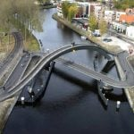 The Melkwegbridge, Purmerend, Netherlands
