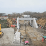 Mega Tunnel and Road Construction in 2 days
