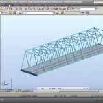 Robot Structural Analysis Single Span Road Bridge