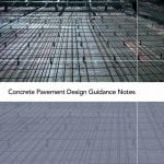 Concrete Pavement Design Guidance Notes