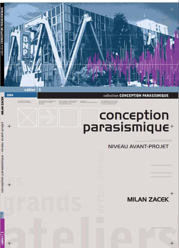 Conception Parasismique. Niveau Avant-Projet, Milan ZACEK