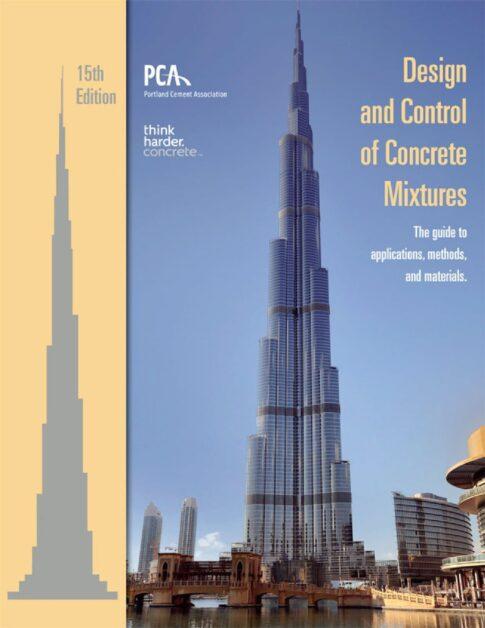 Design and Control of Concrete Mixtures