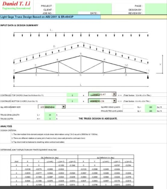 Light Gage Truss - ZwCAD Software ZW3D 2018 v22.00 x86/x64