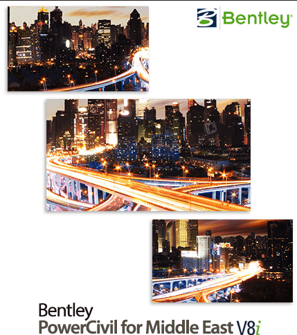 Bentley PowerCivil for Middle East V8i (SELECTseries 4)