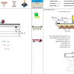 Bridge Design and Analysis Spreadsheet to AASHTO LRFD 2007