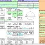 Circular Column Analysis and Design spreadsheet
