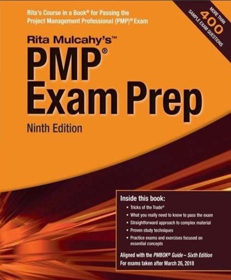 Pmp Exam Prep: Rita Mulcahy's 9th Edition