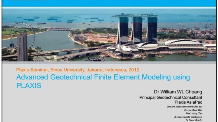 Advanced Geotechnical Finite Element Modeling using PLAXIS