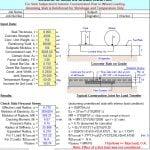 Analysis of Concrete Slabs on Grade Spreadsheet