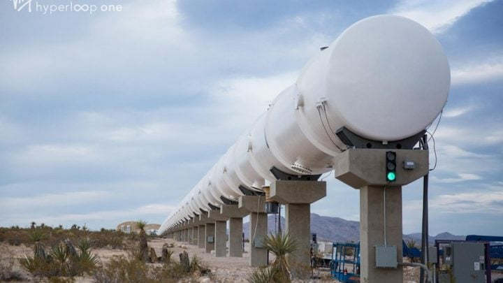 Virgin Hyperloop announces $500m testing centre in Andalucia