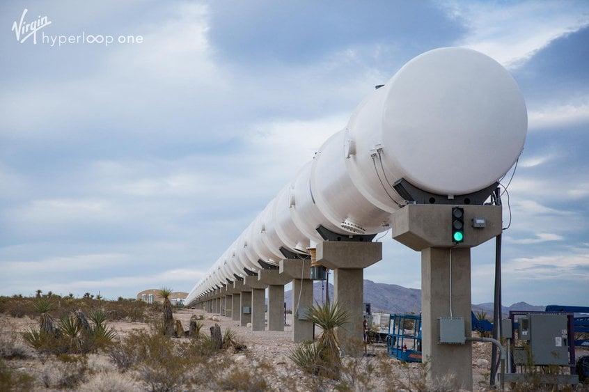 Virgin Hyperloop announces $500m testing centre in Andalucia