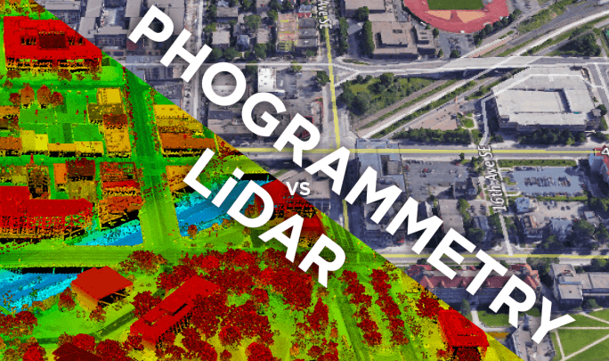 Drone LiDAR or Photogrammetry?
