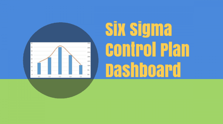 Six Sigma Control Plan Dashboard Excel Template