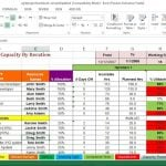 Agile Project Excel Template
