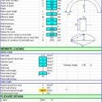 Design Curved Beam Spreadsheet