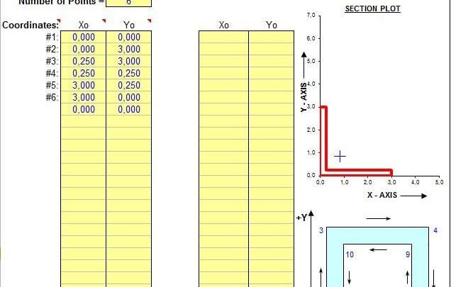 SECTPROP – SECTION PROPERTIES ANALYSIS PROGRAM