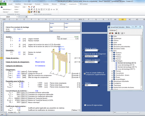 Autodesk Spreadsheet Calculator for RSA Pro 2013