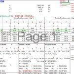 Beam Investigation Spreadsheet