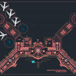Airport Architectural Free Drawings