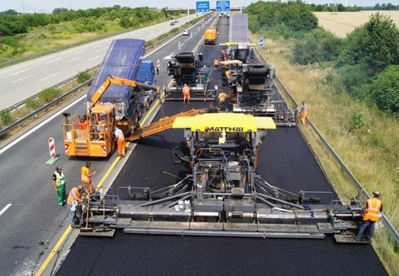 Asphalt paver, how it works?