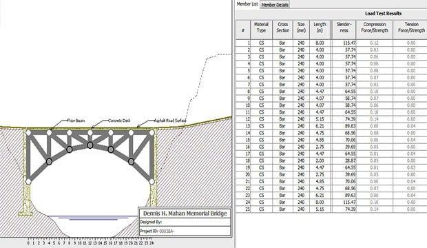 Bridge Design Assessment Spreadsheet