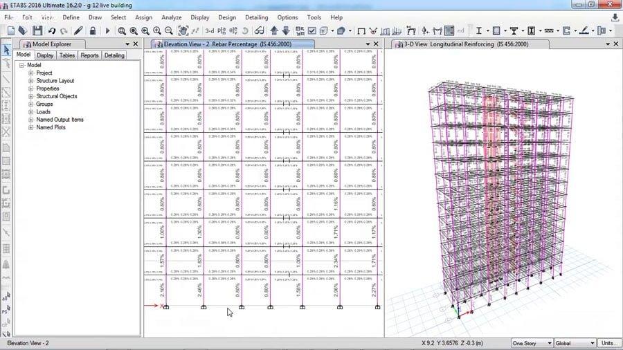 ETABS Training on G+12 Multi-Storey Building