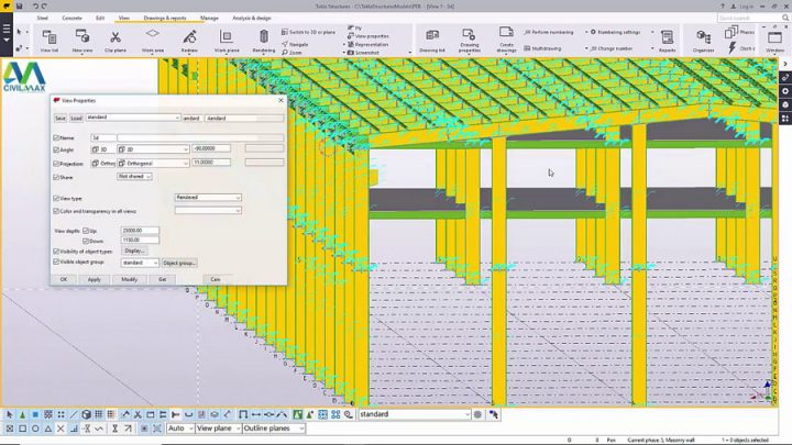 How to Create Crane rail supports using PEB Tools in Tekla Structures