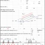 Arch Culvert Calculation Spreadsheet
