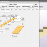 Calculate and create reinforced concrete staircase in Tekla structure