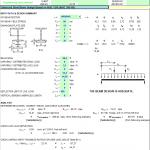 Enhanced Steel Beam Design Spreadsheet