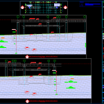 Geotechnical Profil Template free DWG