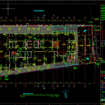 Hotel Ground Floor Slab Detail Free DWG