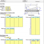 Joist Analysis Spreadsheet