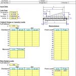 Joist Analysis Spreadsheet