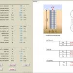Method of jetgrouting spreadsheet