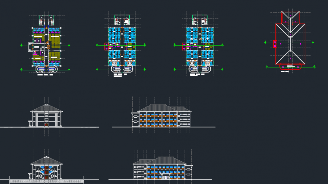 Multi Hospital Dwg Project