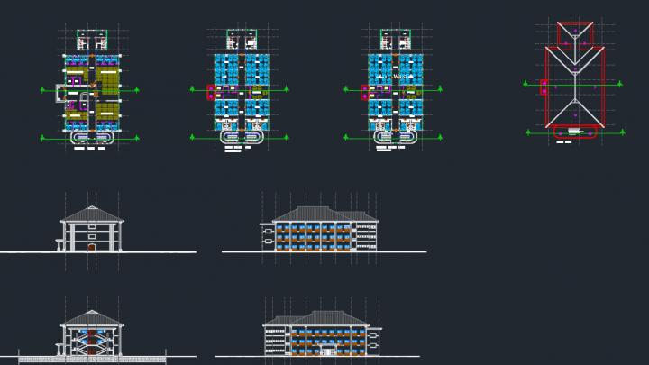 Multi Hospital Dwg Project