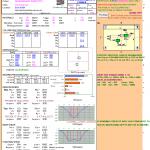 Pad Foundation Design spreadsheet