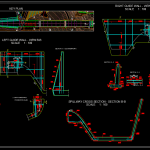 Spillway and Walls Reinforcement Free DWG