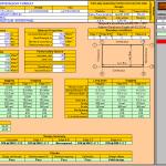 Two way slab design Spreadsheet