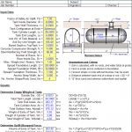 Underground Storage Tank Anchorage design spreadsheet