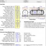 Underground Storage Tank Anchorage design spreadsheet