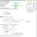 WF Base Plate Design Based on AISC Manual spreadsheet